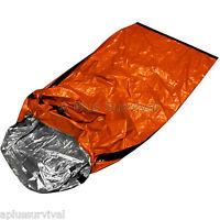 4 Pack Thermal Escape Solar Bivvy Sleeping Bag Mylar Emergency Survival Blanket
