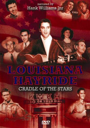1 of 1 - Louisiana Hayride DVD Inc Hank Williams Sr Johnny Cash George Jones Slim whitman
