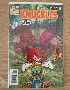 Archie Sonic The Hedgehog Knuckles The Echidna Mini Series Comic Issue 1 Ebay