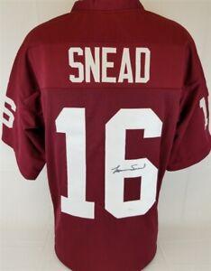premium selection 87376 23296 Details about Norm Snead Signed Washington Redskins Custom Jersey (JSA  Witness COA)