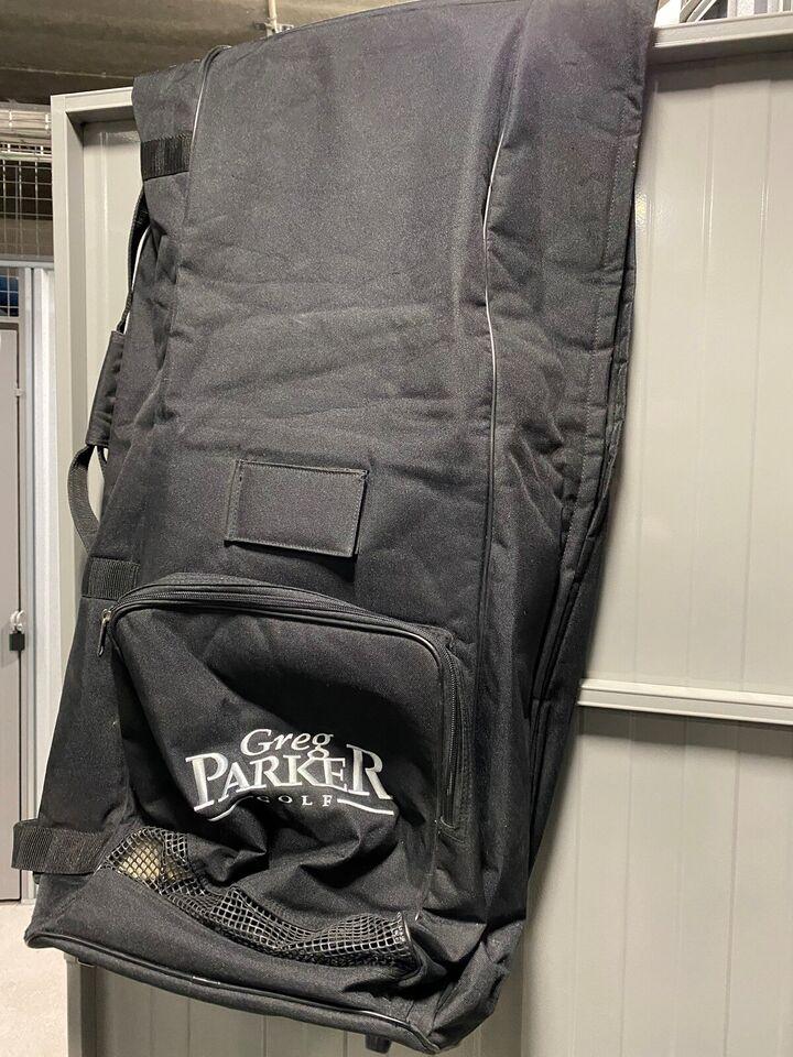 Golfrejsebag, Greg Parker