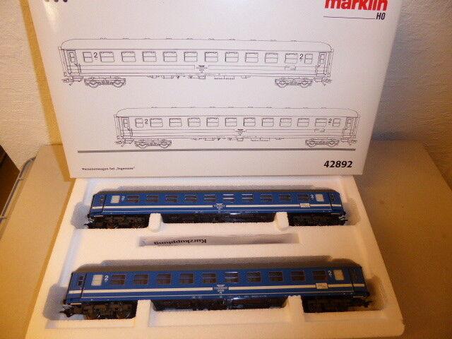 Märklin 42892 h0 a los turismos set Tegernsee Bahn, embalaje original, nuevo