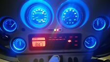 BLUE LED REPLACEMENT LIGHTS BULBS FOR HARLEY DAVIDSON STREET GLIDE GAUGES