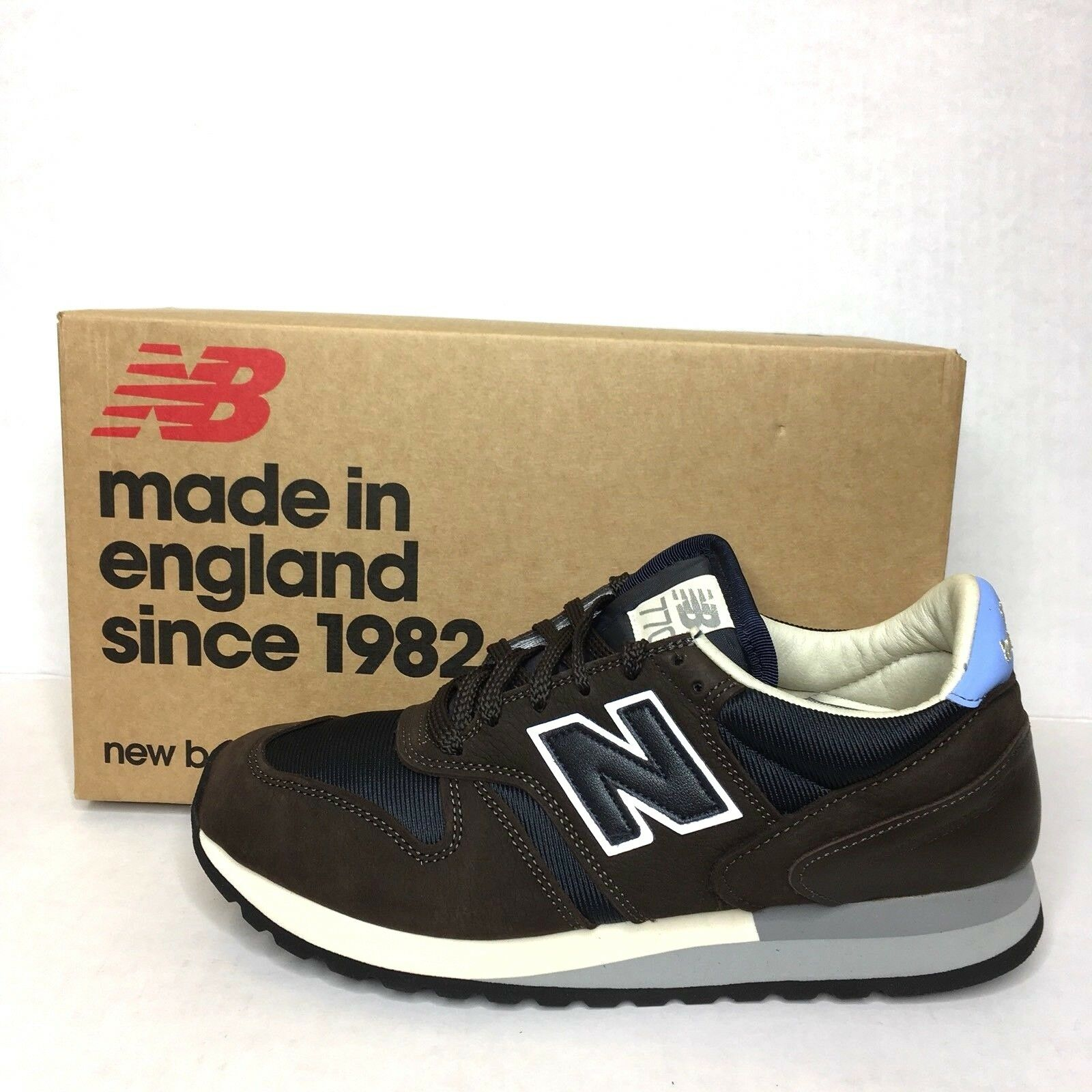New Balance X Norse Projects 770  LUCEM HAFNIA  [M770NP] US 8 Casual bluee Brown