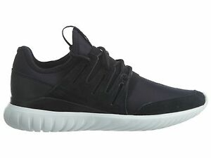 a0d3e5330966 Adidas Tubular Radial Mens AQ6723 Black White Neoprene Running Shoes ...