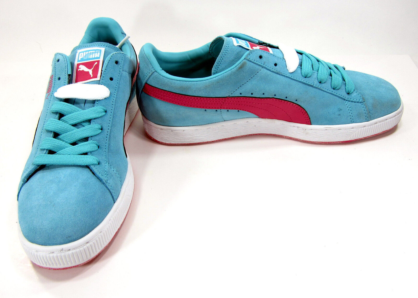 Puma shoes Classic Suede Light Baby bluee Sneakers Size 10