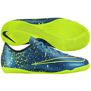 d924109e8b0 Nike Mercurial Victory IV IC Indoor Soccer Shoes 2015 Electro Blue ...