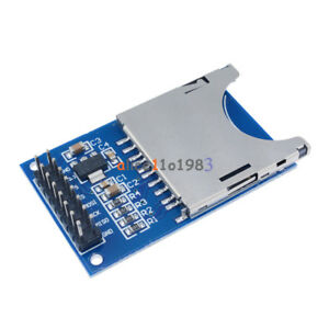 2PCS-SD-Card-Module-Slot-Socket-Reader-For-Arduino-ARM-MCU-Read-And-Write