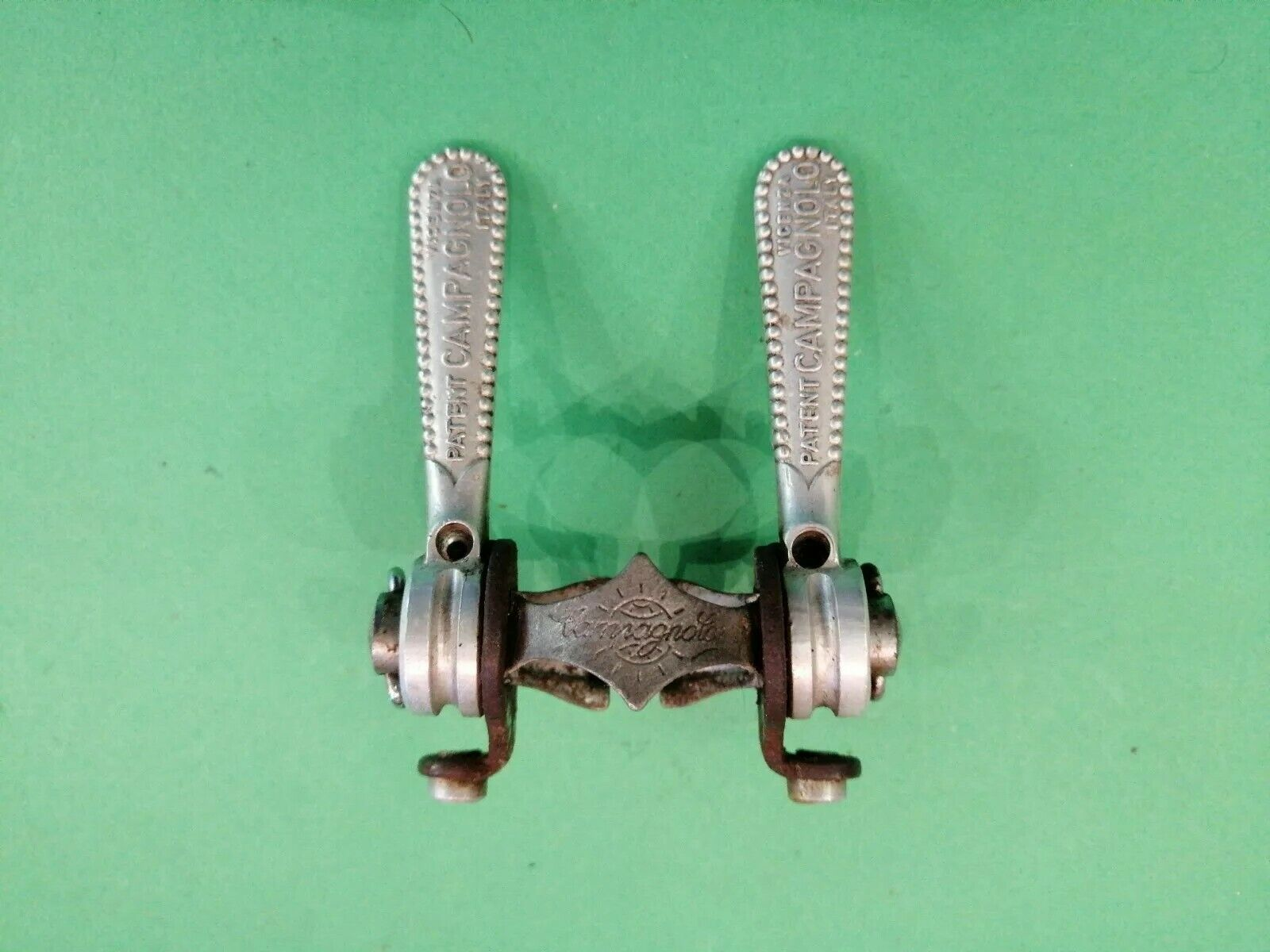 Leve Cambio Campagnolo Gransport Shift levers   Vintage