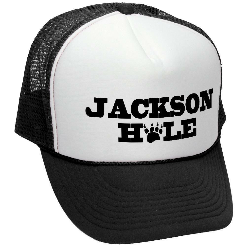 Jackson Hole Trucker Hat - Mesh Cap