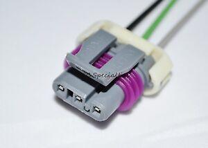ls1 map sensor wiring diagram ls1 ls2 ls6 manifold pressure map sensor wiring pigtail connector gm 5.3 6.0   ebay