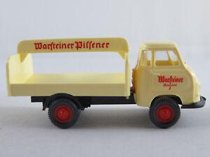 Wiking-343-Hanomag-mensajero-carro-de-bebidas-1958-034-eras-una-pilsener-034-1-87-h0-nuevo