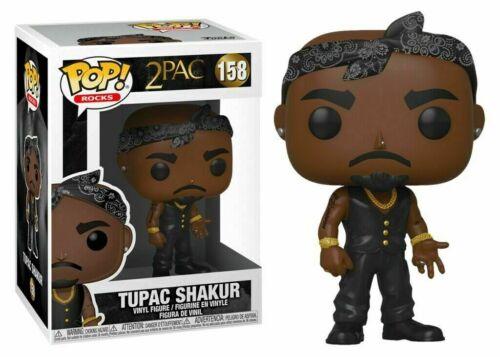 Tupac black vest  #158 New!!! Funko POP Vinyl Rock