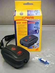 Luftpumpen Haustierbedarf Sera 08812 Air 110 Plus Luftpumpe Elegant Und Anmutig