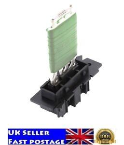 Nuevo Ventilador Calentador Motor Del Ventilador Resistor Para Vauxhall Corsa D 13248240