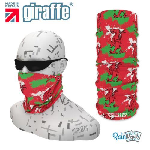 G401 pays de galles dragon drapeau coiffures neckwarmer multifonctionnel bandana bandeau