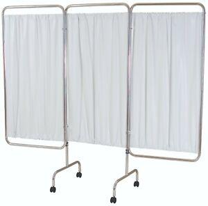 10 x Three panel folding aluminium mobile screen frame