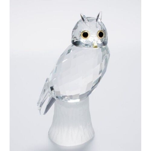 Figur Eule Glas Crystal Style Collection NEU OVP Editions Atlas