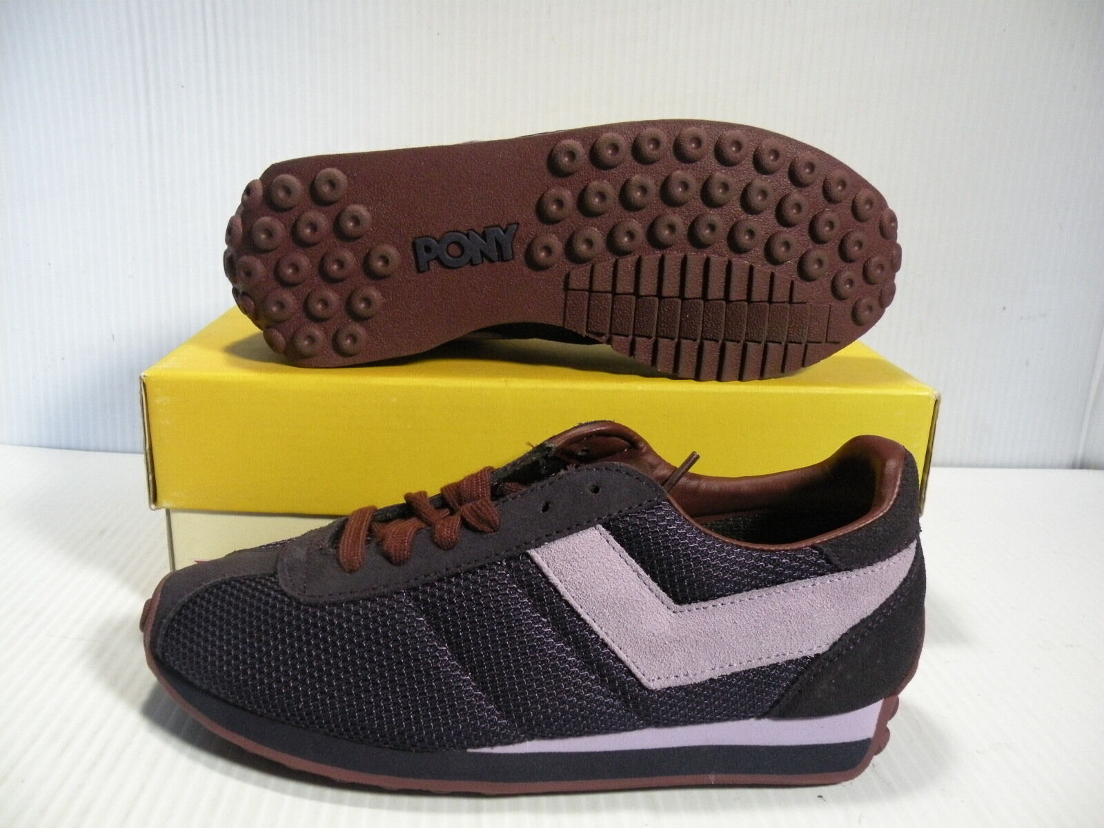 PONY SHE RUN '78 LOW SHDE/DEC SNEAKERS WOMEN Schuhe NT SHDE/DEC LOW CH 9938 SIZE 6.5 NEW b28a33