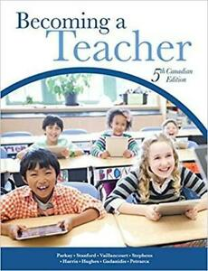 Becoming a Teacher 5th Canadian Edition Canada Preview