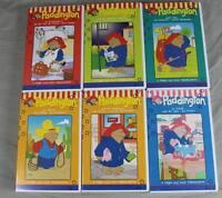 6 VHS Video Kassetten - Paddington Kinderfilme 6 Cassetten mit je 3 Folgen /178