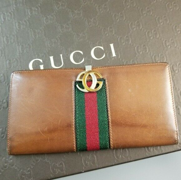GUCCI  Beautiful  Vintage Classic Gucci wallet - image 3