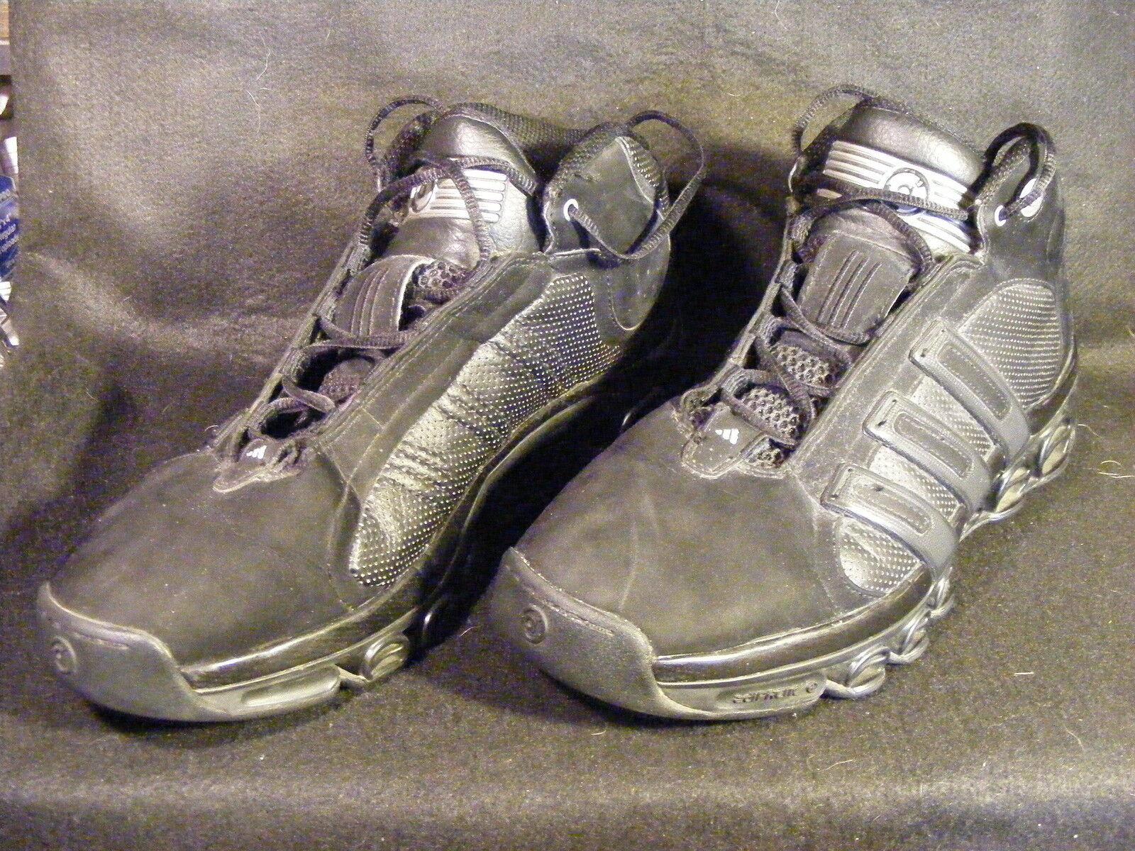 Men's Adidas Black Superstar Structure Hi Basketball Shoes SCARCE Size 11