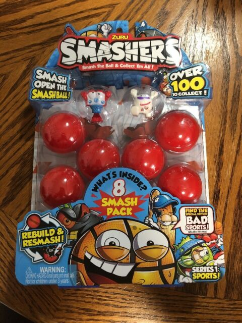 Smash Ball Basketball Bus Limited Edition Smashers ZURU Sports Collectables 2