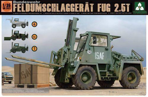 TAKO2021 Takom 1 35 - German Feld-Umschlag-Gerät FUG 2.5T (4 in 1)