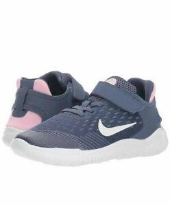 Girl-039-s-Nike-FREE-RN-2018-PSV-Kids-Shoes-Sneakers-AH3455-402