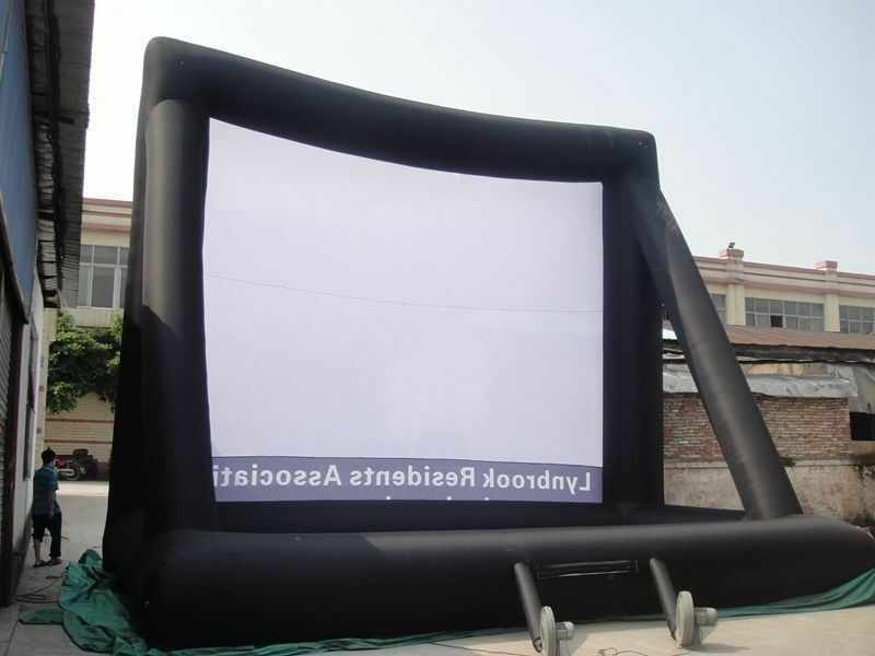 53m Giant Giant Giant Inflatable Movie Screen, Outdoor Inflatable Screen s 4d4fa9
