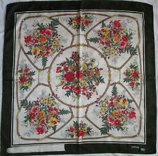 -Superbe Foulard  YOU YOUNG by ENRICO COVERI  soie  TBEG  vintage scarf