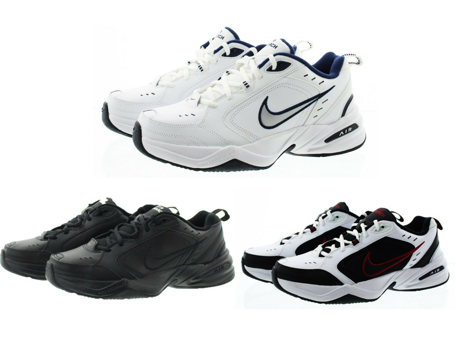 Nike 415445 Mens Air Monarch IV Cross Trainer Low Top Athletic Shoes Sneakers New shoes for men and women, limited time discount