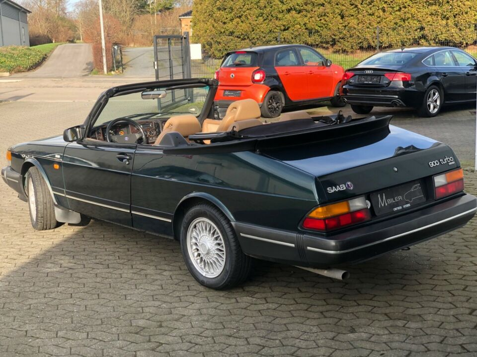 Saab 900i 2,1 16V Cabriolet Benzin modelår 1991 km 249000