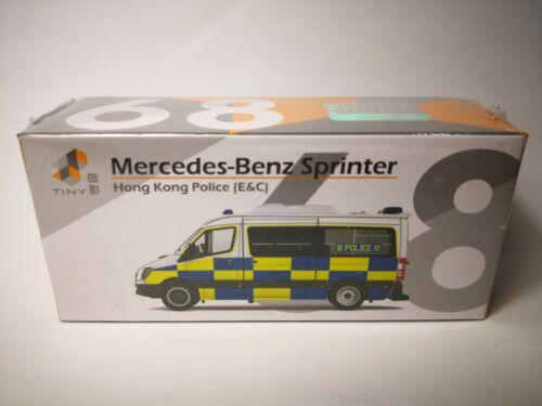 TINY HONG KONG No E/&C 1st Edition 68 Mercedes-Benz Sprinter Police AM8802