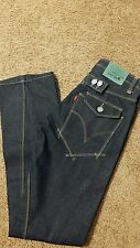 Levi Engineered Dark Blue Denim Twisted Seam Mens Jeans 30x32 (BRAND NEW)