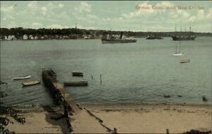 Groton-CT-From-New-London-c1910-Postcard