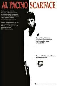 61 X 91.5cm Scarface Movie Maxi Poster - Al Pacino 61cm 91cm