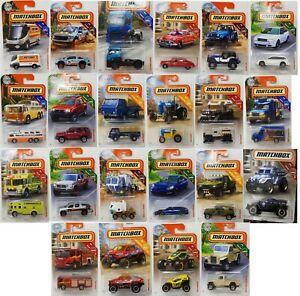 MATCHBOX-DIE-CAST-CAR-COLLECTION-22-VEHICLES-CHOOSE-YOUR-FAVORITE-NEW-PACK