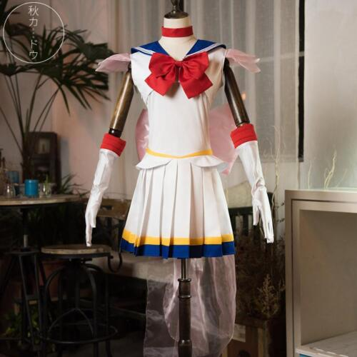 Anime Sailor Moon Tsukino Usagi Serena Cosplay  Costume Free Shipping