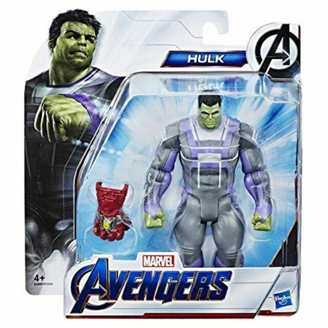 Marvel Avengers Endgame Hulk 6-Inch Deluxe Figure Gamma Powered Suit