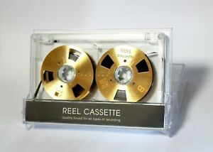 Reel-to-Reel-cassette-tape-self-made-high-quality-design-Gold-color-NEW