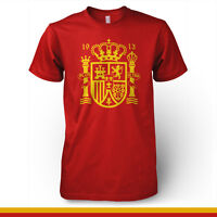 Spain Espana National Football Team Futbol Soccer T Shirt La Roja