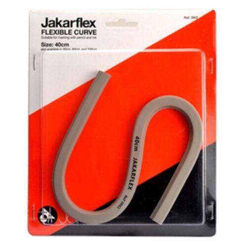 4 X conjunto de curvas jakarflex conjunto flexible Flexi redacción Curve 30cm 40cm 60cm 100cm