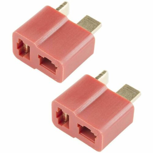 Redline RC Deans Style T Plug Connector Female Only 2 Pack RL-C-0087