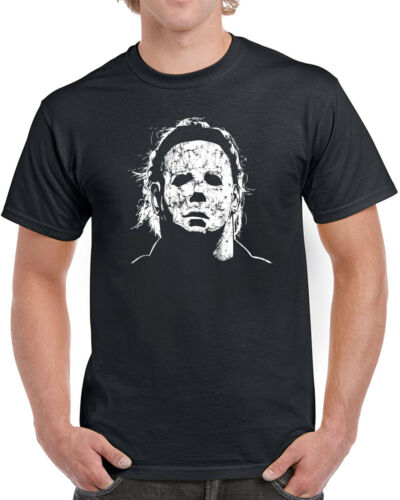 010 Halloween Mask mens T-shirt scary movie 70s party culture horror costume new