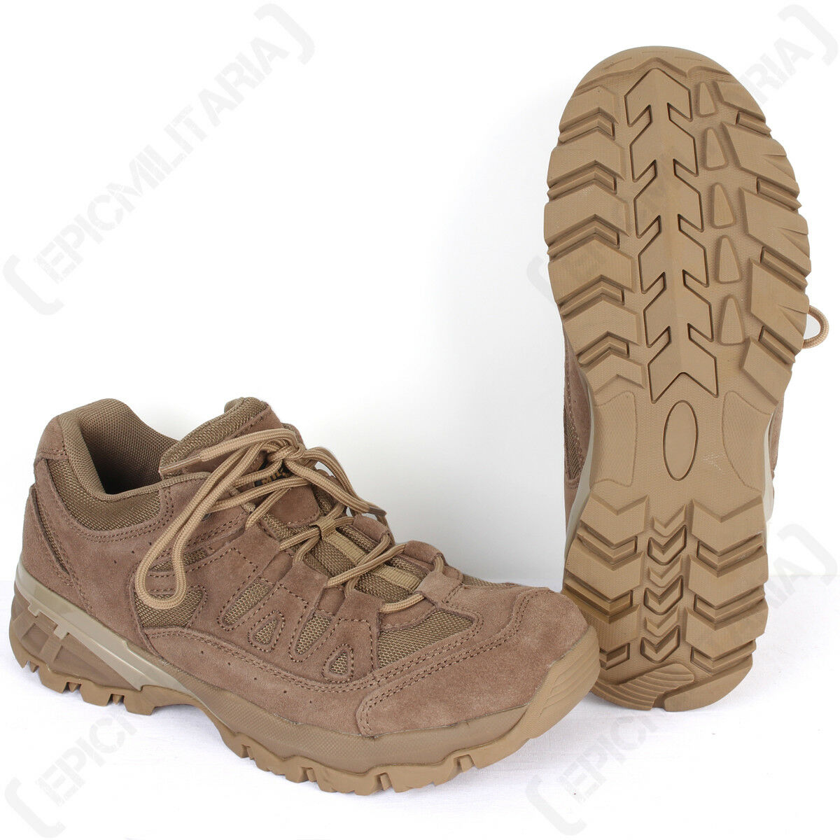 Coyote Squad Shoes - Walking Hiking Work Security Outdoor Footwear All Sizes New