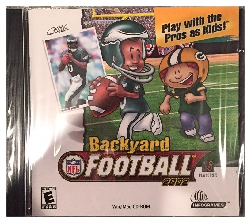Backyard Football Video Game backyard football 2002 (pc, 2002) | ebay