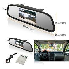 "Car Rearview mirror monitor 4.3"" TFT LCD Rear view Backup Color Monitor Screen"