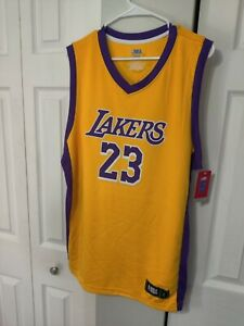Details about NBA LEBRON JAMES LOS ANGELES LAKERS Fanatics Branded TX3 COOL (MEN) jersey